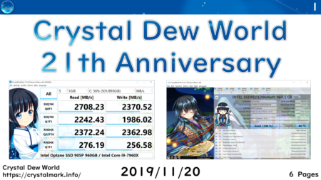 Crystal Dew World 21st Anniversary