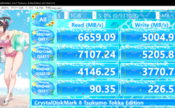 CrystalDiskMark 8 Tsukumo Tokka Edition