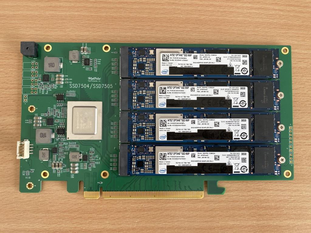 HighPoint SSD7505